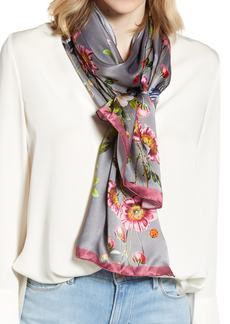 Ted Baker London Oracle Floral Silk Scarf