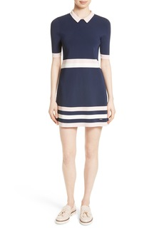 Ted Baker London Origami Stripe Knit Dress