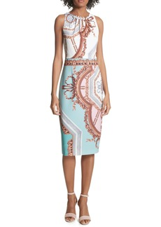 Ted Baker London Orlla Embellished Midi Dress