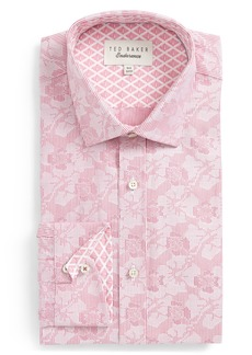 Ted Baker London Orlov Trim Fit Floral Dress Shirt