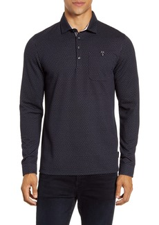Ted Baker London Outof Slim Fit Jacquard Polo