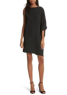Ted Baker London Oversize Drape Front Dress