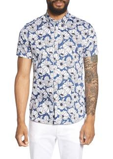 Ted Baker London Oversize Floral Sport Shirt