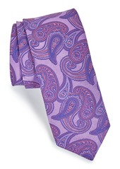 Ted Baker London Paisley Floral Woven Silk Tie
