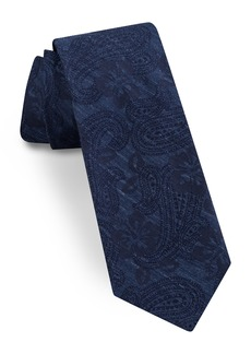 Ted Baker London Paisley Jacquard Silk Tie