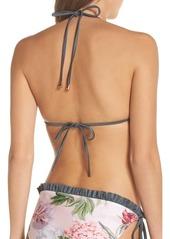 a7dd3cc35f6 Ted Baker Ted Baker London Palace Gardens Ruffle Trim Bikini Top ...