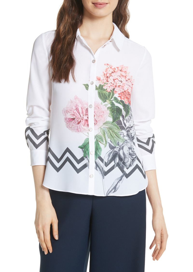 f84091e70ce00f Ted Baker Ted Baker London Palace Gardens Shirt