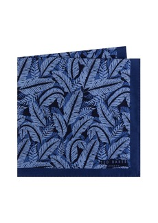 Ted Baker London Palm Print Silk Pocket Square
