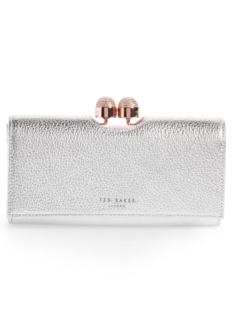 30861058af4f Ted Baker London Pamelia Patent Leather Matinée Wallet
