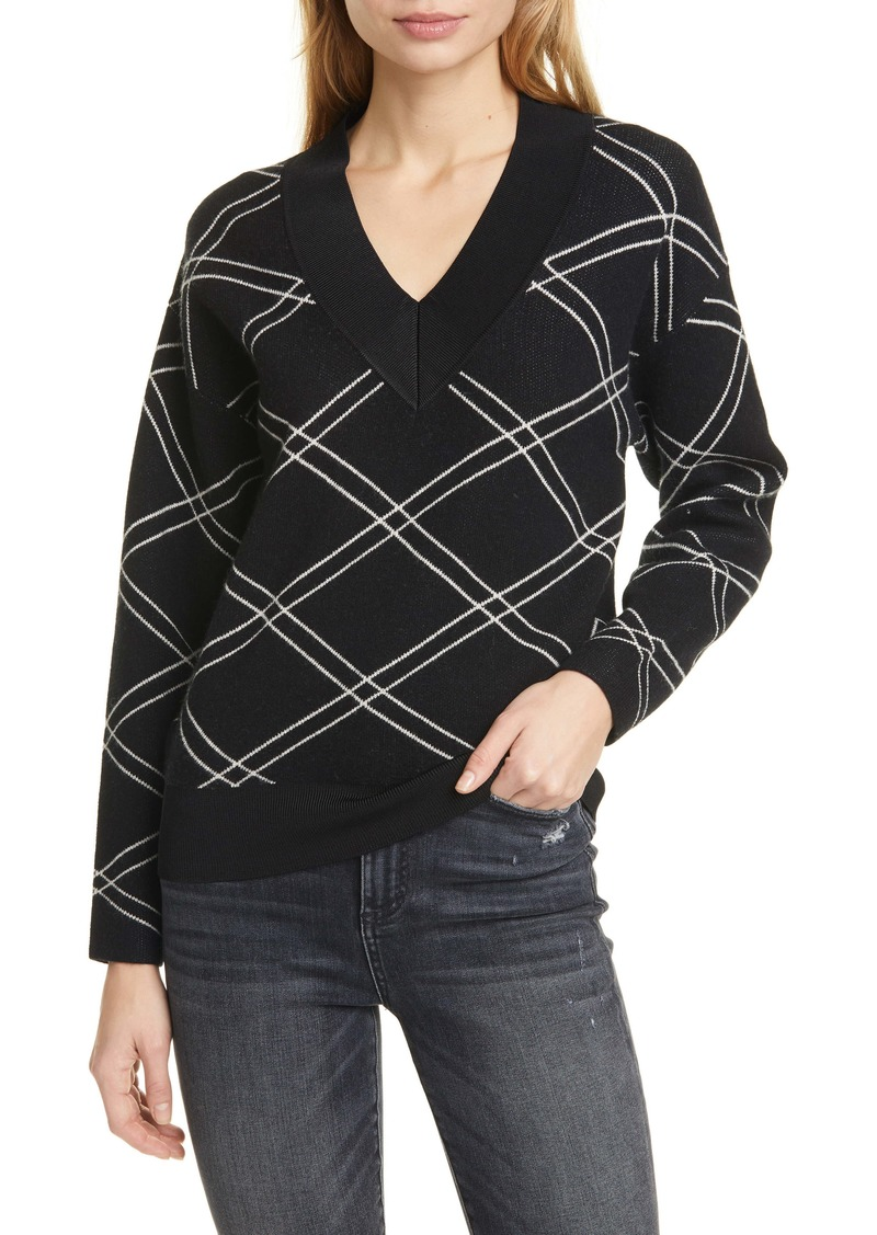 Ted Baker London Pansia V-Neck Sweater