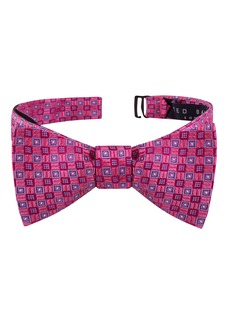 Ted Baker London Parquet Geometric Silk Bow Tie