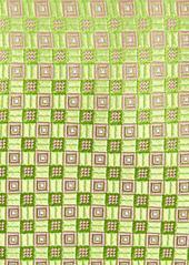 Ted Baker London Parquet Grid Silk Tie