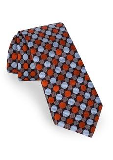 Ted Baker London Parquet Jacquard Silk Tie
