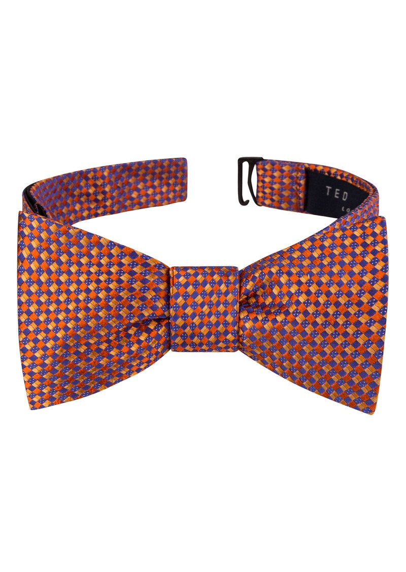 Ted Baker London Parquet Square Silk Bow Tie