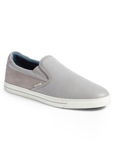 Ted Baker London Patroy Perforated Slip-On Sneaker (Men)