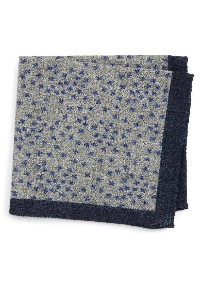 Ted Baker London Patterned Wool Pocket Square