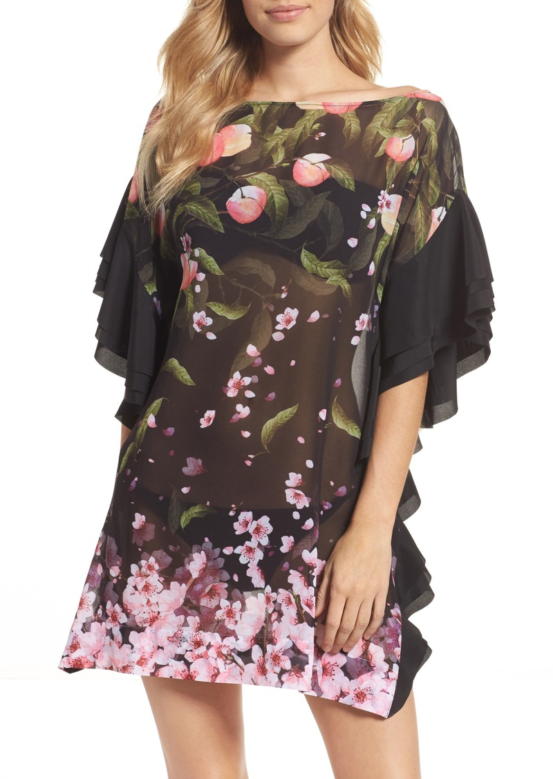 95c132a3a2 Ted Baker Ted Baker London Peach Blossom Cover-Up Tunic