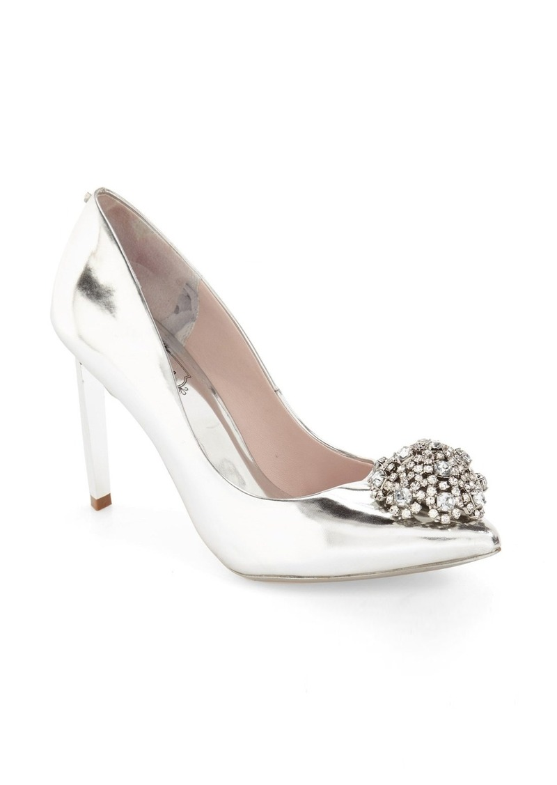 a747cc2c0 Ted Baker Ted Baker London  Peetch  Crystal-Embellished Pointy Toe ...