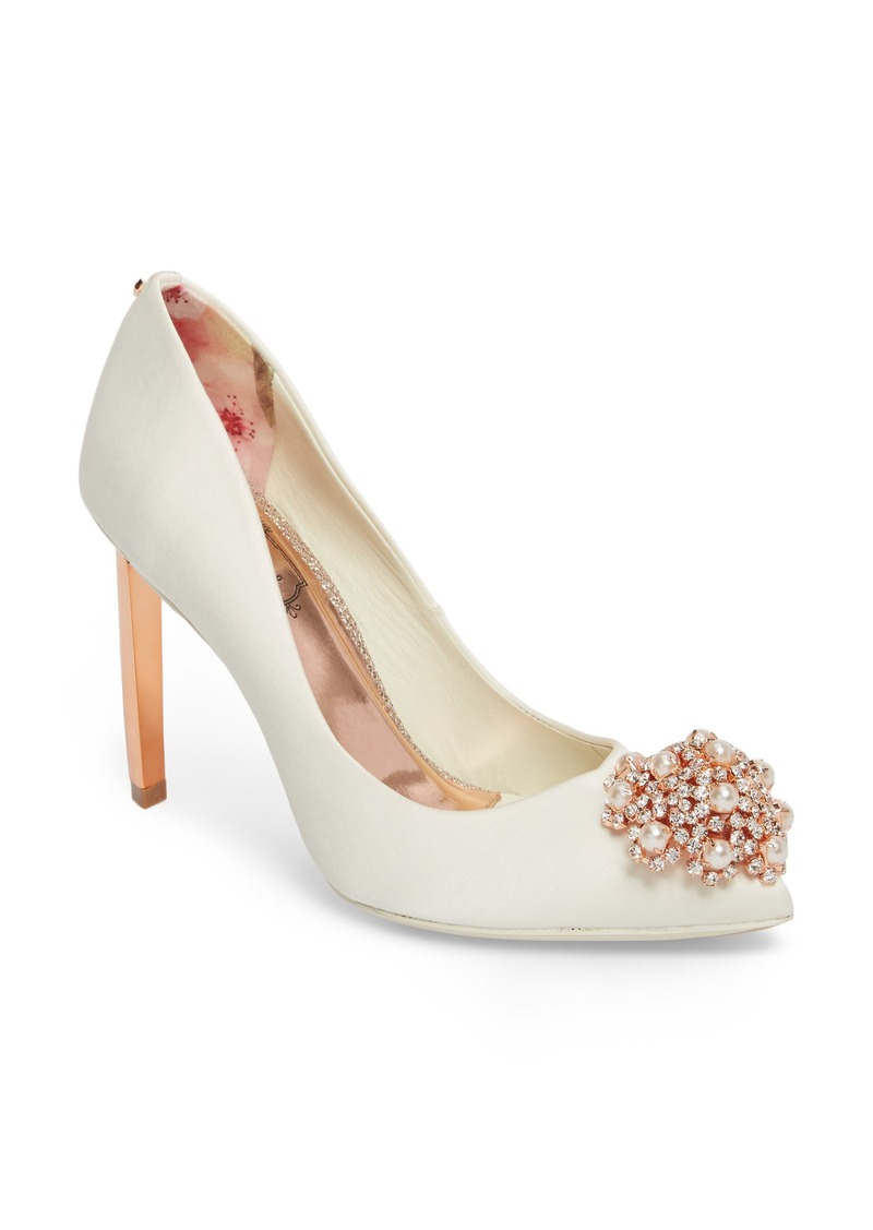 ad0d0b5677 Ted Baker Ted Baker London 'Peetch' Pointy Toe Pump (Women) | Shoes