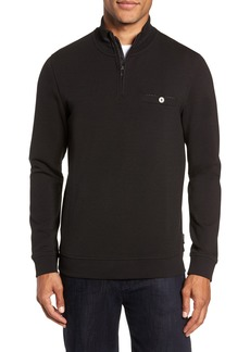 Ted Baker London Peper Trim Fit Half Zip Pullover