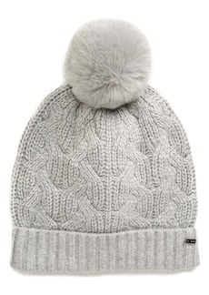 Ted Baker London Peppier Faux Fur Pompom Hat