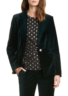 Ted Baker London Phila Velvet Tailored Jacket