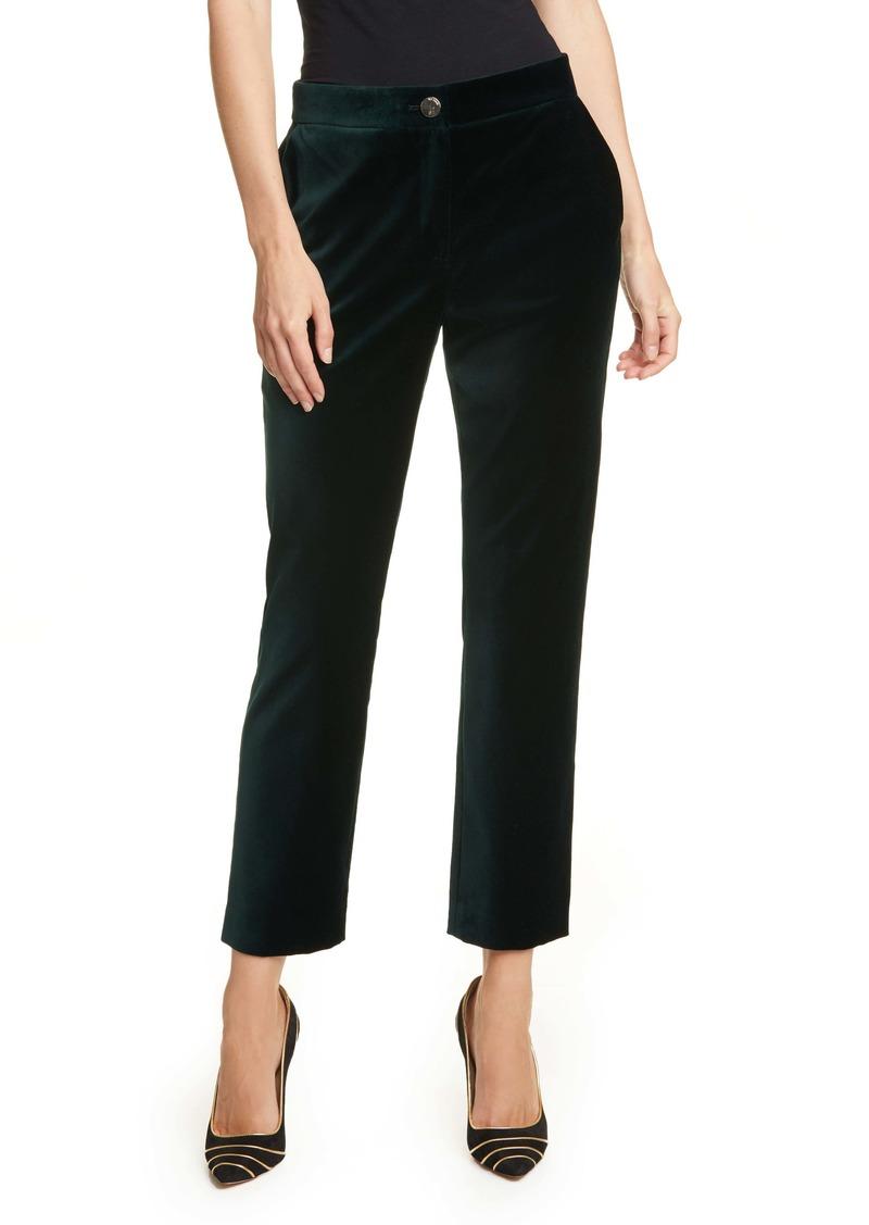 Ted Baker London Philat Velvet Tailored Trousers