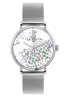 Ted Baker London Phylipa Serendipity Mesh Strap Watch, 37mm