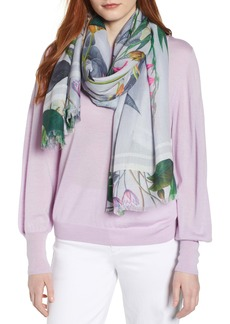 Ted Baker London Pistachio Floral Scarf