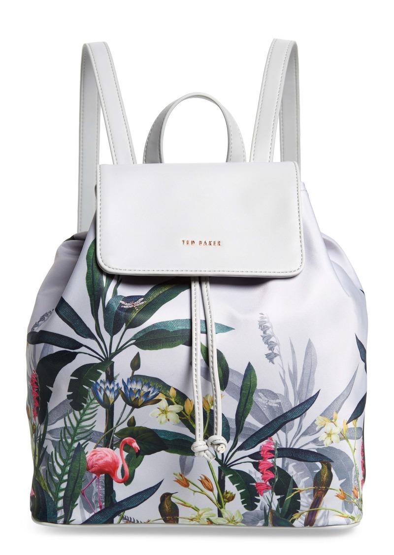 Ted Baker London Pistachio Print Backpack