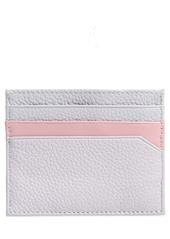 Ted Baker London Pistachio Print Leather Card Holder