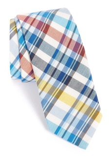 Ted Baker London Plaid Cotton & Silk Tie
