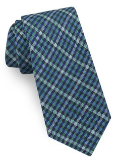 Ted Baker London Plaid Silk Tie