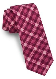 Ted Baker London Plaid Wool Tie