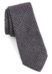 Ted Baker London Plaid Woven Skinny Cotton Tie