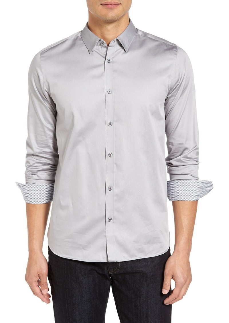 Ted Baker London 'Plancuf' Modern Slim Fit Stretch Sport Shirt