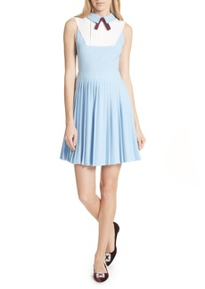 Ted Baker London Pleated Fit & Flare Dress