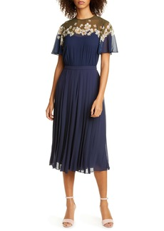 Ted Baker London Pleated Jumpsuit