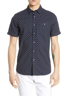 Ted Baker London Polarbe Slim Fit Dot Print Woven Shirt