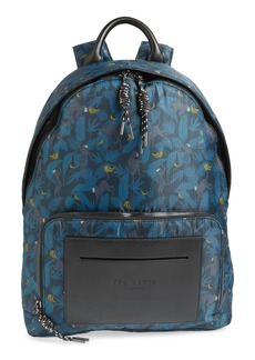 Ted Baker London Primate Print Backpack