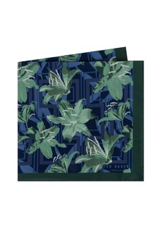 Ted Baker London Print Silk Pocket Square