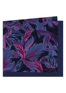 Ted Baker London Print Silk Pocket Square