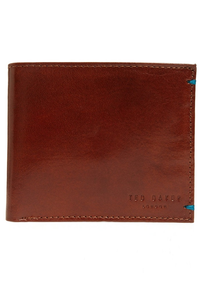 Ted Baker London 'Puzzle' Leather Bifold Wallet