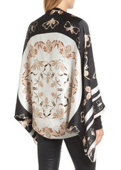 Ted Baker London Queen Bee Silk Cape Scarf