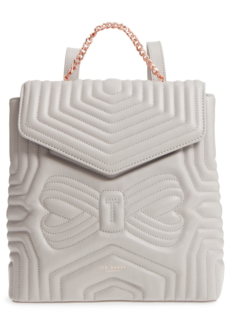 8ef9c382d6279b Ted Baker Ted Baker London Quilted Bow Leather Backpack