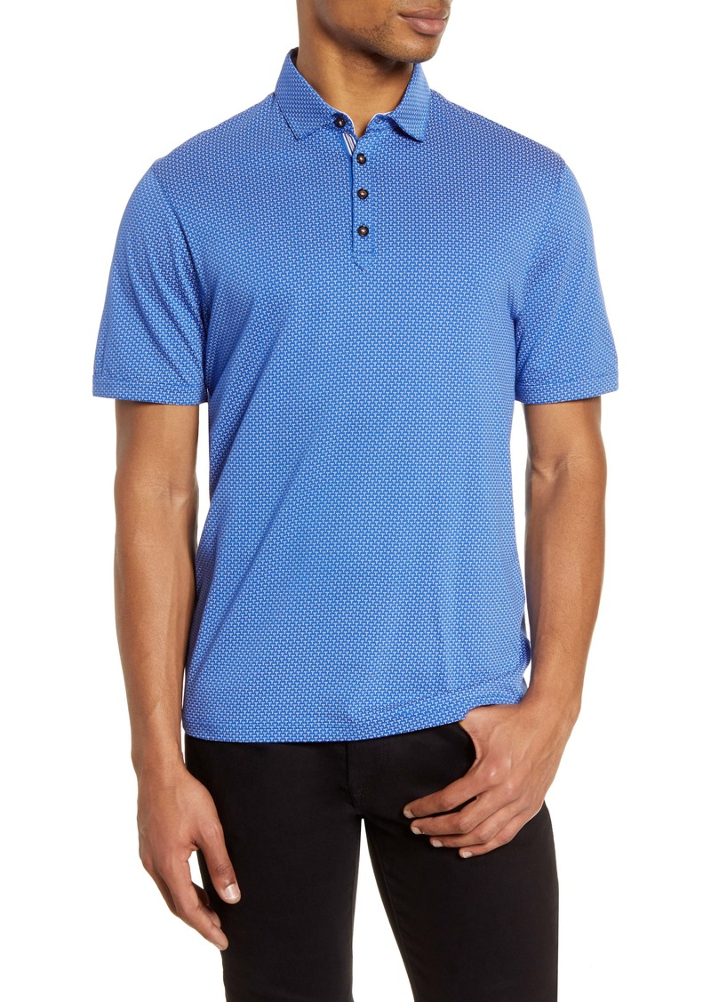Ted Baker London Qujump Slim Fit Short Sleeve Polo Shirt