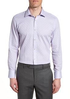 Ted Baker London Racking Trim Fit Dot Dress Shirt