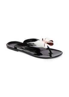 Ted Baker London Rafeek Bow Flip Flop (Women)