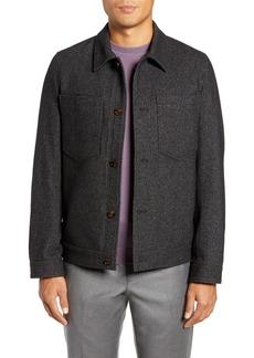 Ted Baker London Rarebit Slim Fit Shirt Jacket