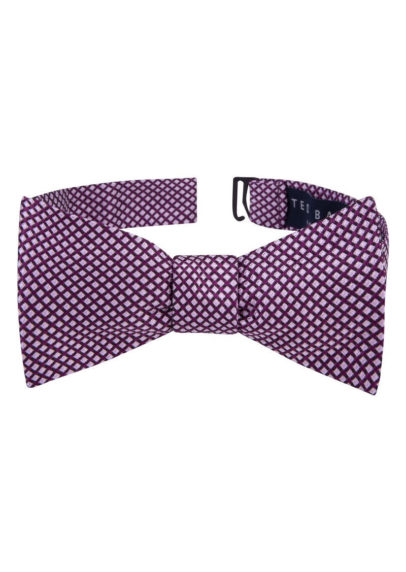 59dbf6dad41581 Ted Baker Ted Baker London Ravishing Check Silk Bow Tie